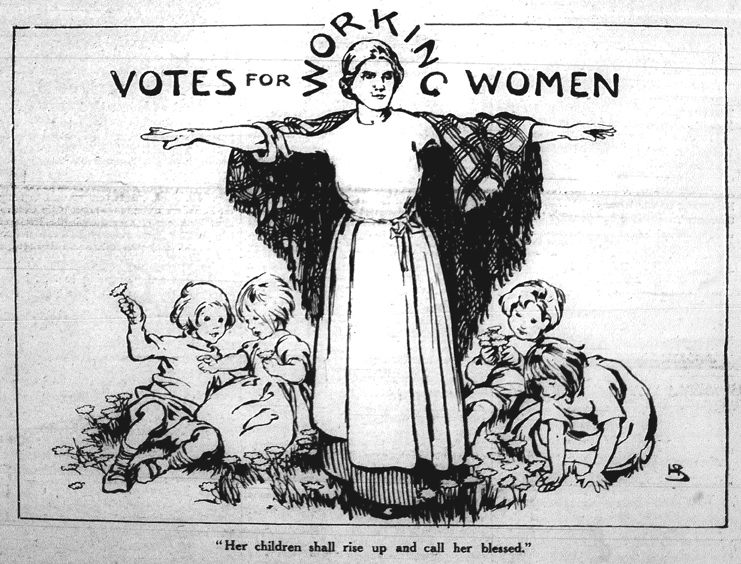 When did the suffragettes end